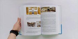 Книга А4 с цветными иллюстрациями